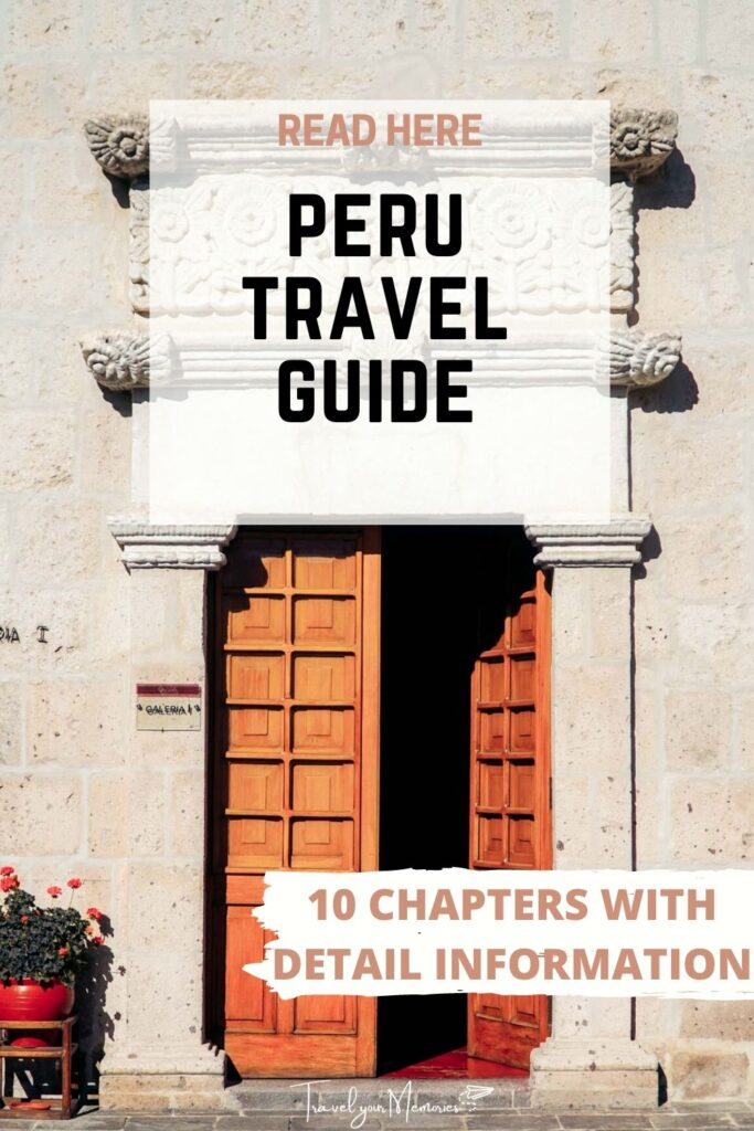 peru travel guide pin III