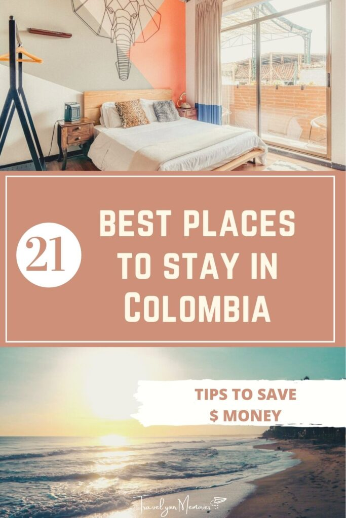 places to stay in colombia pin I