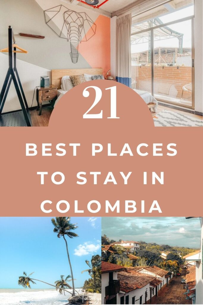 places to stay in colombia pin II