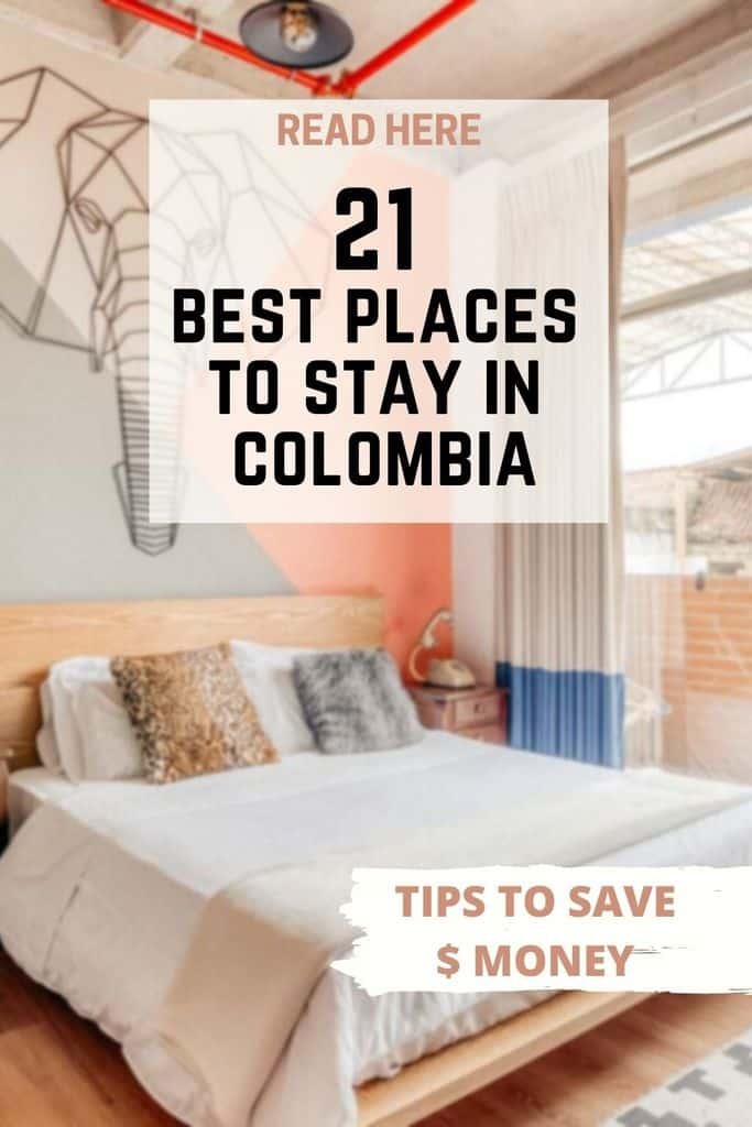 21 Best places to stay in Colombia
