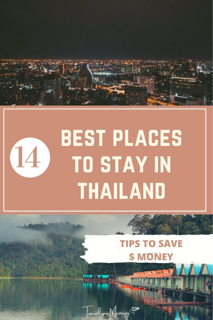 places to stay in thailand pin I