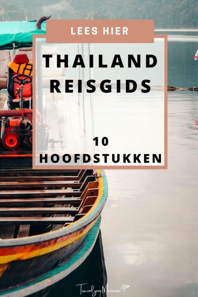 thailand reisgids pin I
