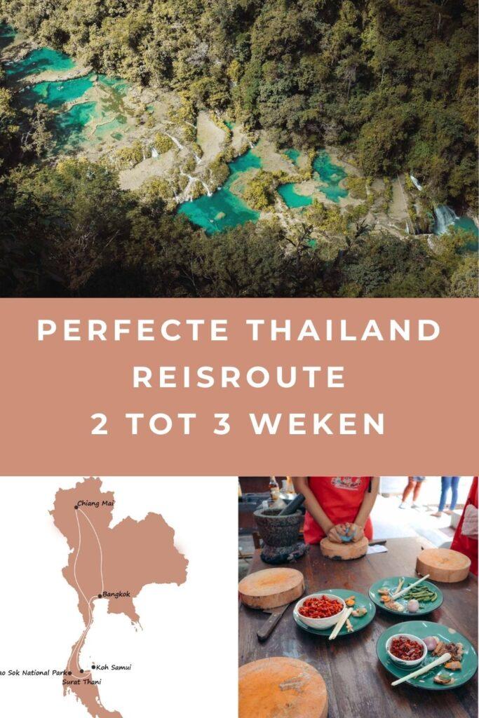 thailand reisroute pin I