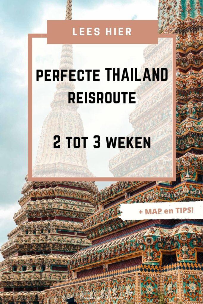 thailand reisroute pin II