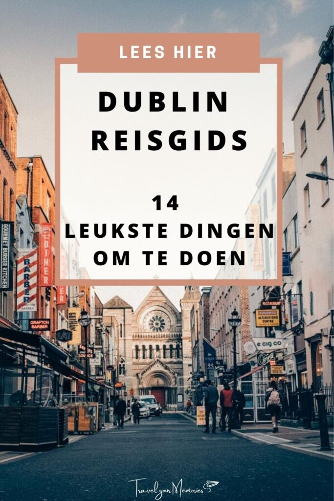wat te doen in Dublin pin I