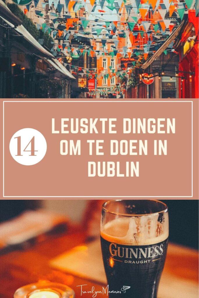 wat te doen in Dublin pin II