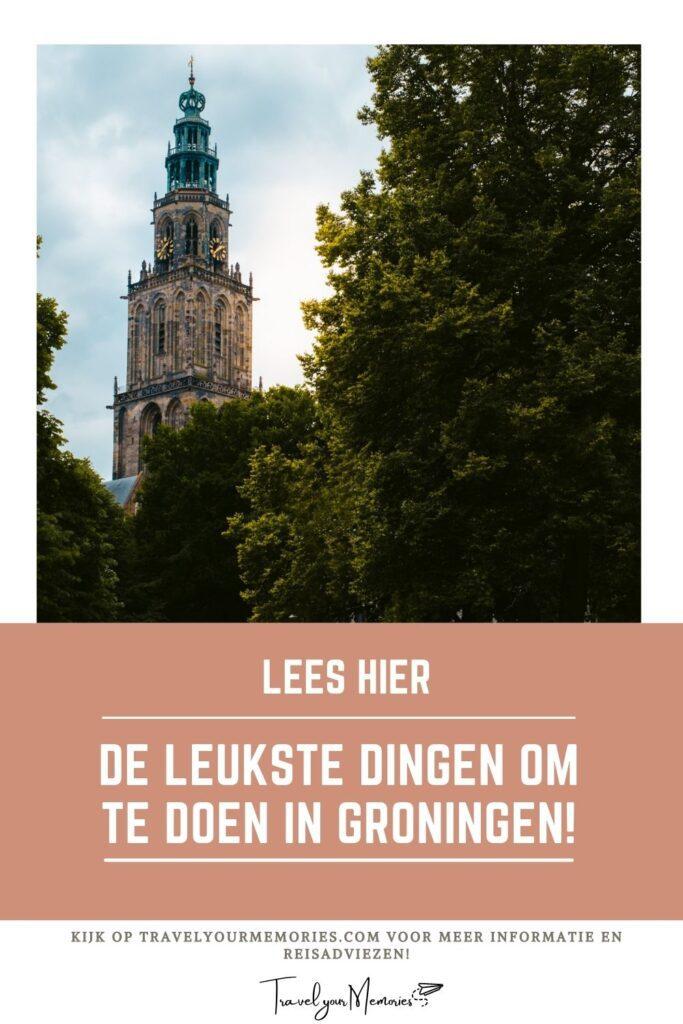 wat te doen in Groningen pin I