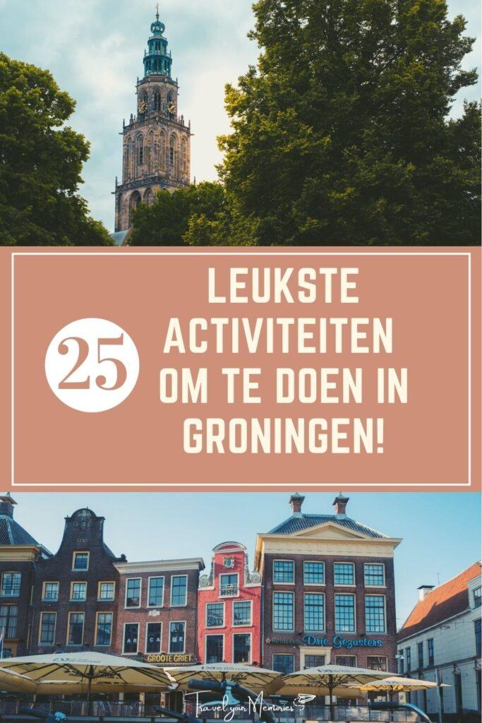 wat te doen in Groningen pin II