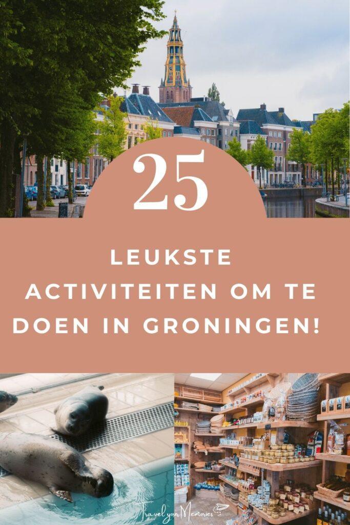 wat te doen in Groningen pin III